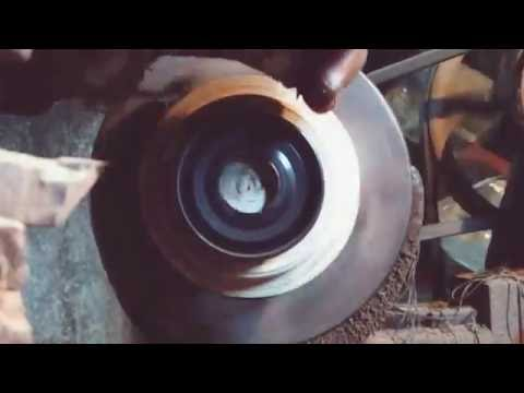 Oil seal Trimming [Slow Motion]