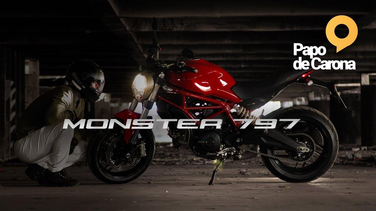 a90badf1254 Ducati Monster 797 (Review) e um pedido especial - YouTube
