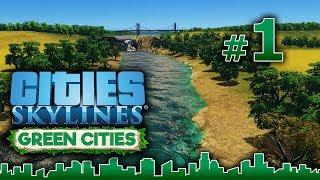 Cities Skylines GREEN CITIES – Grandes Obras #1- Gameplay Español