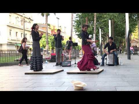 Flamenco Street Dance - Seville, Spain 5/9/17