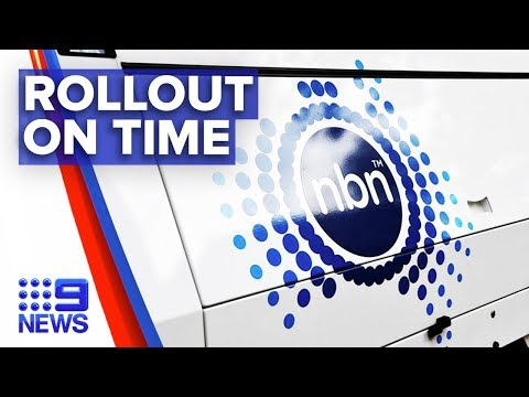 NBN Rollout Could Soon Be Complete | Nine News Australia