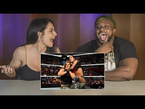 BFF's Big E & Kaitlyn watch their SummerSlam 2013 tag bout: WWE Playback