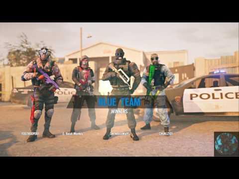 R6 Siege Army of 2 recruit party (w/ Chuklz101)