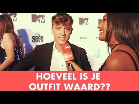 HOEVEEL IS JE OUTFIT WAARD MET BOEF, LIL KLEINE, MONICA GEUZE EN MEER! [MTV EMA AMSTERDAM]
