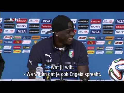 Balotelli: moeten Costa Rica respecteren | WK Voetbal 2014