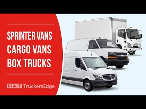 How to find loads for box trucks, sprinter and cargo vans