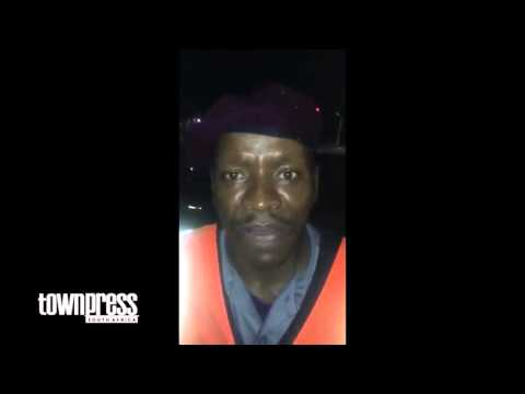 SOUTH AFRICA : Angry citizen calls Malema a k**f