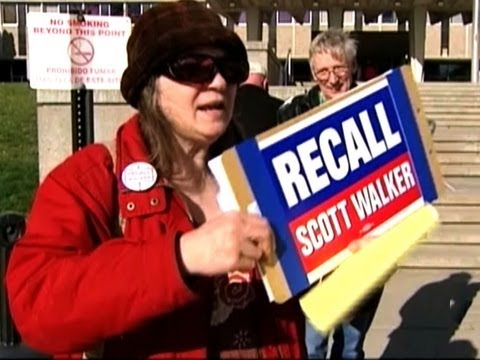 CBS Evening News with Scott Pelley - Wis. recall election expected to set records