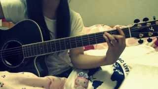 阿部真央さんの 貴方が好きな私(6月26日発売!)を 弾いて歌ってみました。