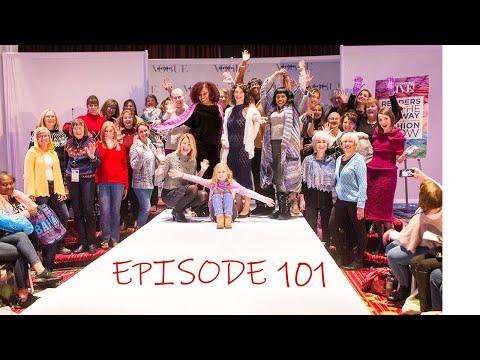 Episode 101- Knitting, Stash Busting, Vogue Knitting Live NYC