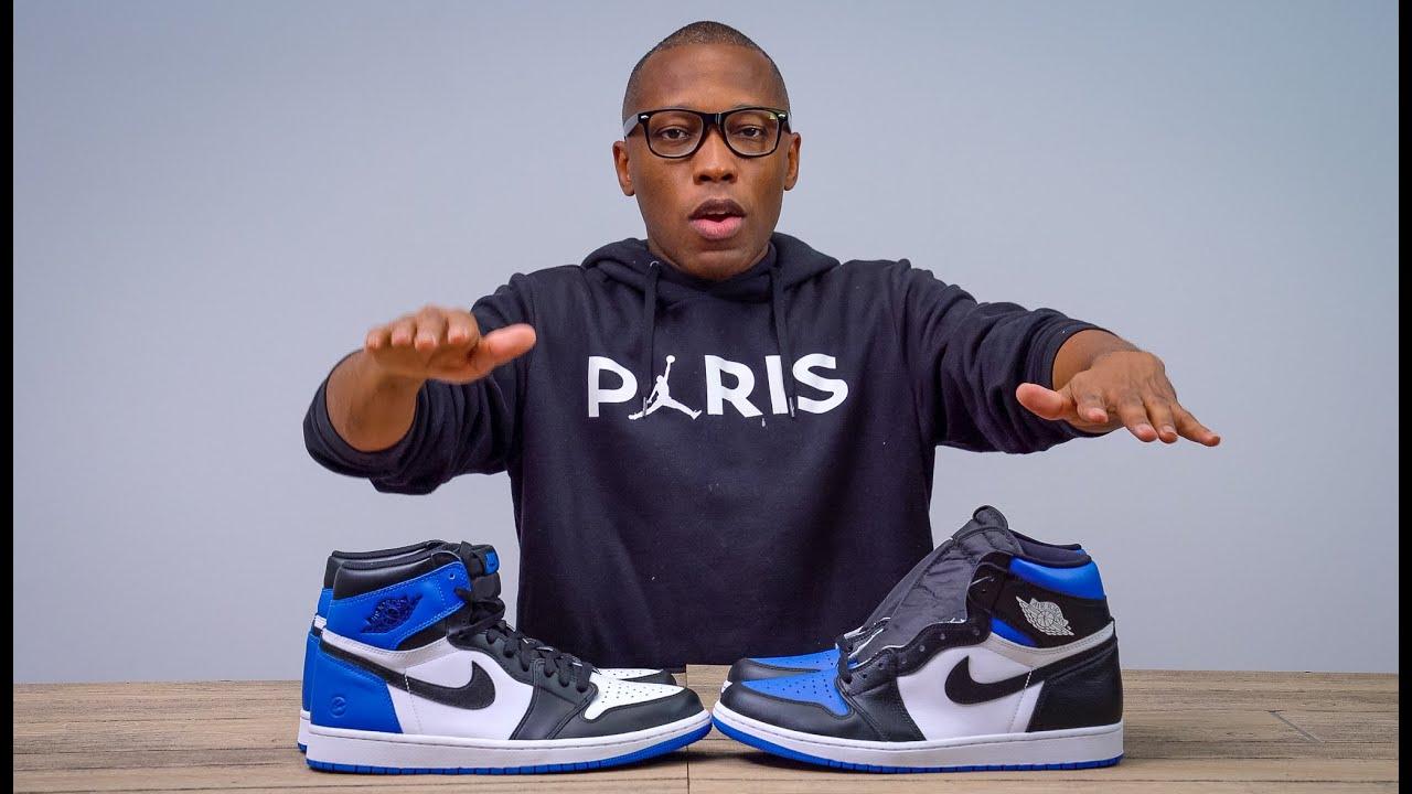 The Air Jordan 1 Royal Toe Is The Same As The Jordan 1 Youtube