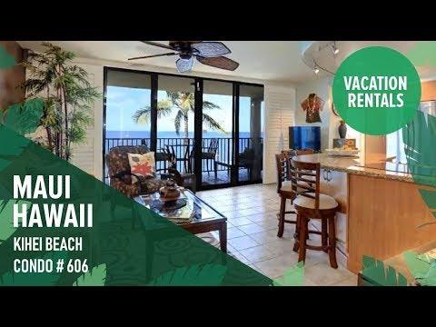 Stay at Kihei Beach in South Maui