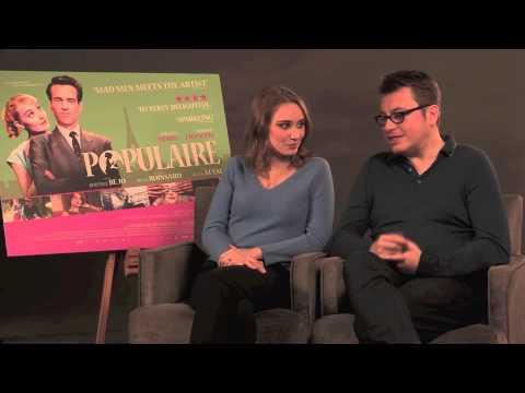 Interview: Populaire | Régis Roinsard, Déborah François (The Fan Carpet)