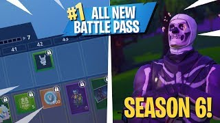 Season 6 Battle Pass! Skull Trooper Return, OG Music + More! - Fortnite: Battle Royale