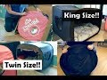Privacy Pop King Size/Twin Size Bed Tent Review!! Bonus: Getting it back in the bag!!