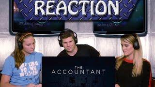 The Accountant Trailer 1 Reaction