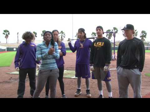 LSU BASEBALL Vs  SOFTBALL - (My way with A.J.)