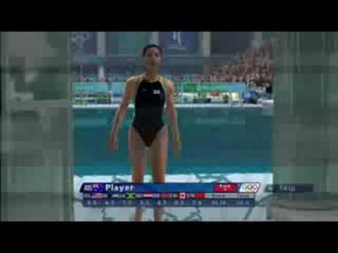 SEGA Beijing Swimming Gameplay (Xbox 360, PS3, PC)