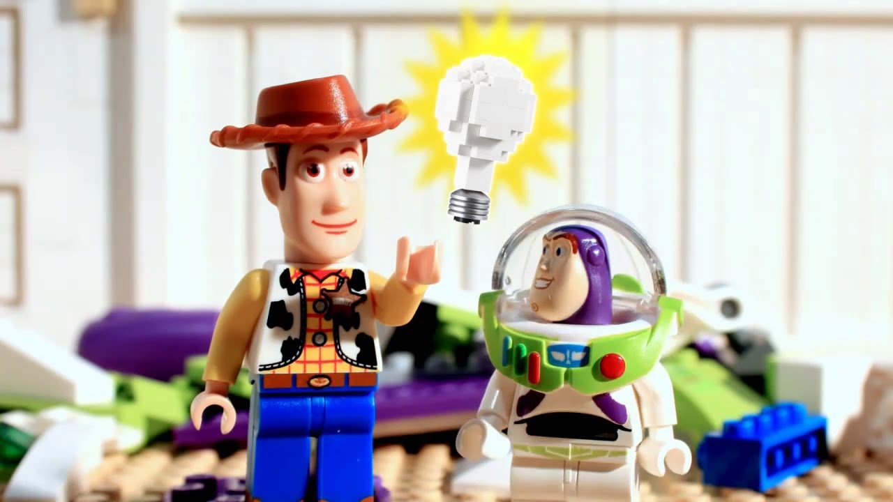 Lego Toy Story Episode 1 Blast Off Buzz Youtube