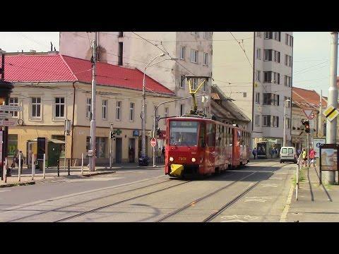 Bratislava Tram Električky Tramvaje Straßenbahn Route 5 Pri kríži ~ Komisárky ČKD Tatra T6A5