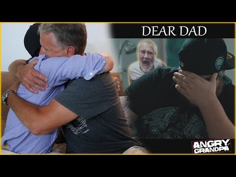 REACTING TO DEAR DAD with PSYCHO DAD! *emotional*