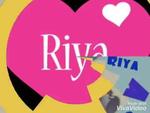 i love you RIYA