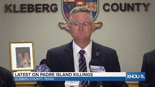 WATCH LIVE: Latest on man in custody in couple's Padre Island deaths