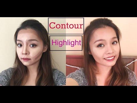 Cách Tạo Khối Thu Nhỏ Khuôn Mặt - Contour & Highlight Routine | TrinhPham