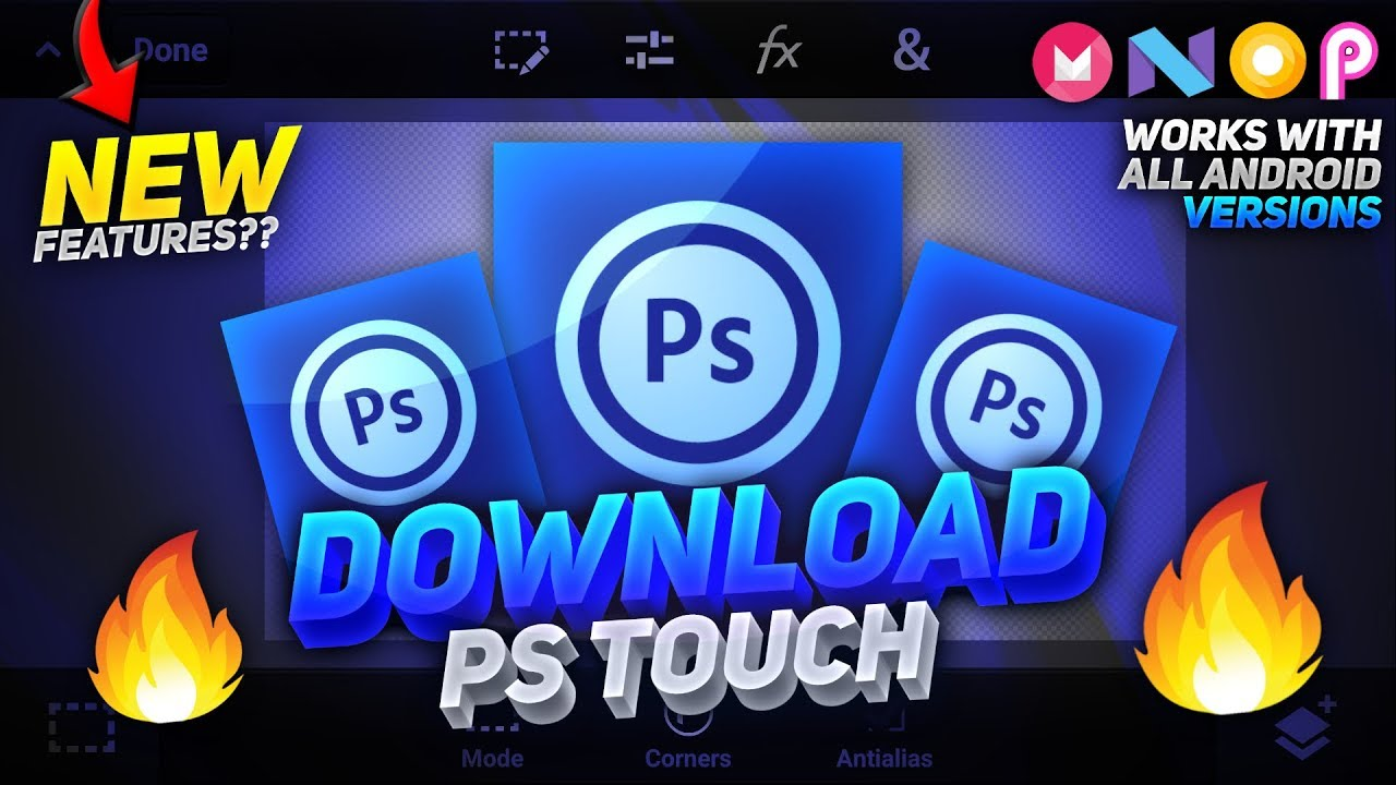 Photoshop Touch Latest Apk 2019 | Photoshop Touch For Android 9 Pie | Ps  Touch Latest Version 9 0🔥