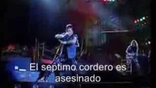 Iron Maiden The evil That Men Do Subtitulos en español