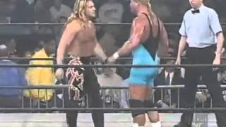 Curt Hennig vs  Chris Jericho      Nitro 12/29/97