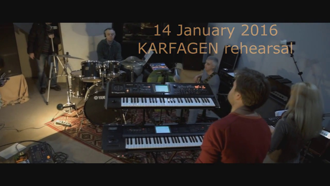 Karfagen - Magician`s Life (live studio rehearsal)