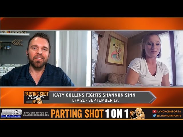 Katy Collins talks LFA debut September 1st against Shannon Sinn
