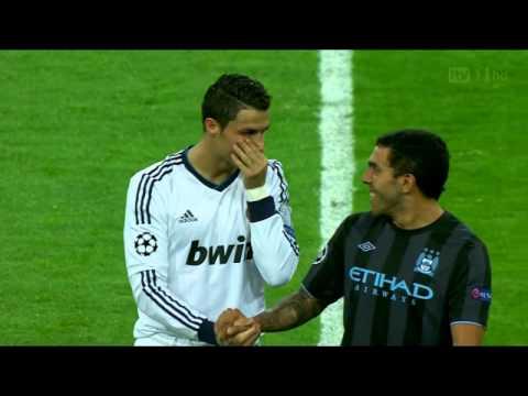 Cristiano Ronaldo and Carlos Tevez
