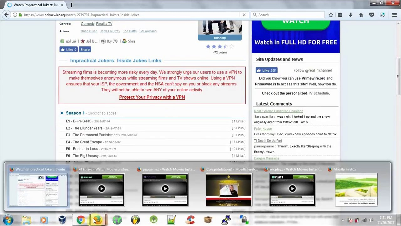 How to Fix 1 Channel Blank Screen Primewire.ag - YouTube
