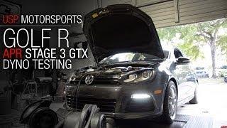APR Stage 3 GTX FSI Golf R Dyno Testing | USP Motorsports
