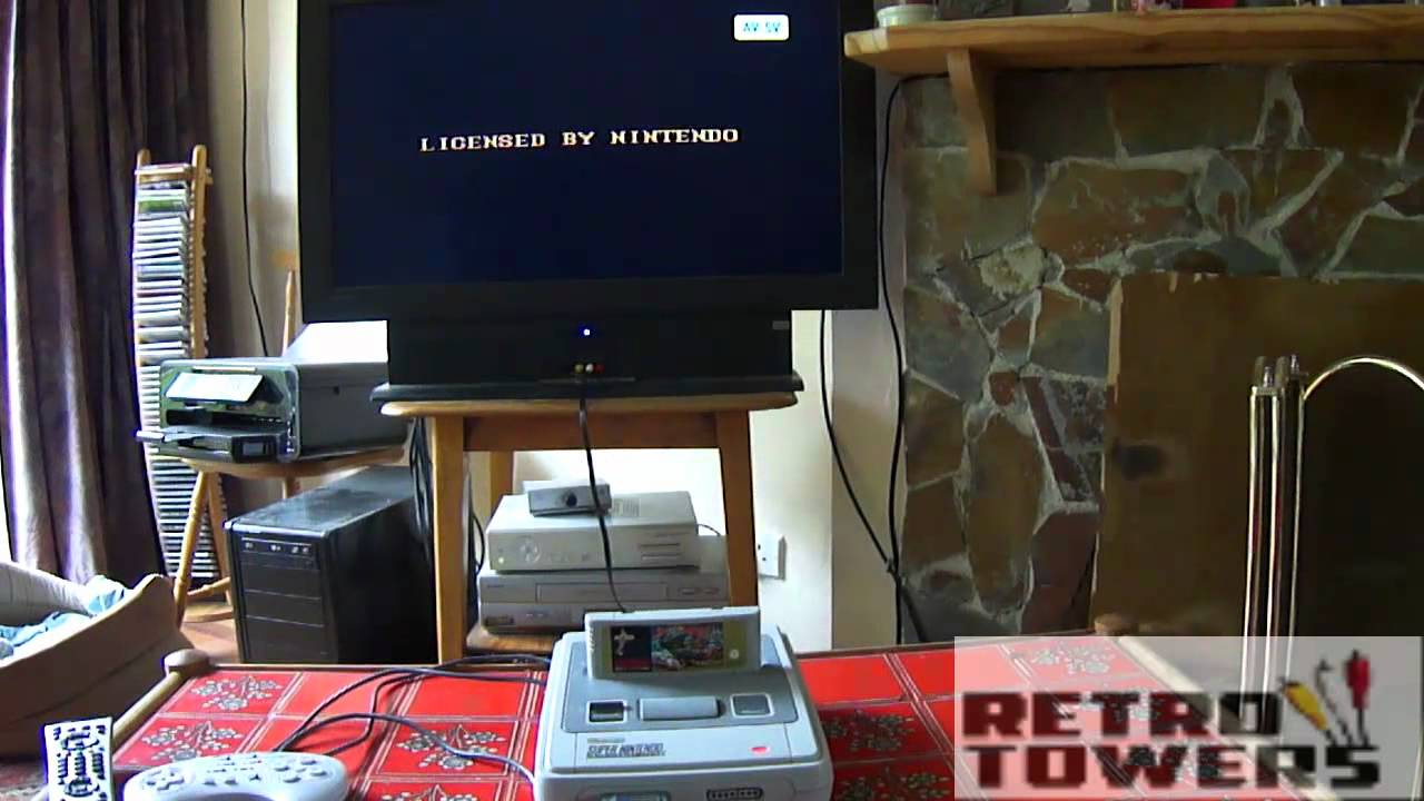Super NES hook up Velocità datazione San Diego 18 fino