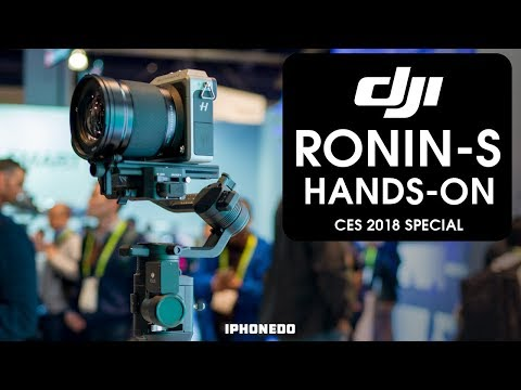 Hands-On With DJI Ronin-S — Under $1000  [CES 2018 Special]