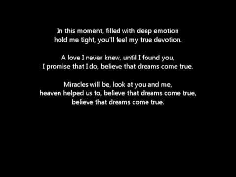 Por New Wedding Song Dreams Come True Pachelbel S Canon In D Lyrics