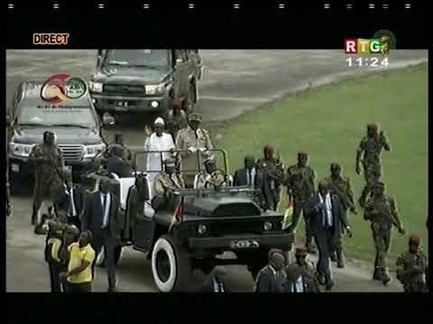www.guineesud.com - Conakry: célébration de l'An 60 de la Guinée, stade du 28 sept.58