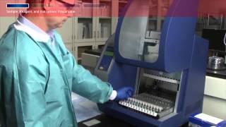 Residual DNA Analysis Workflow