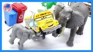 Robocar Poli_Toy Episode 1 Crocodile and Railing Bridge and Amber Rescue Operation