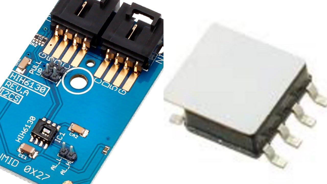 HIH6130 Temperature-Compensated Humidity and Temp Sensor ±4% RH ±1 0°C