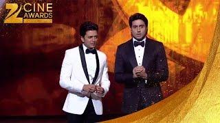 Abhishek & Riteish Funny Zee Cine Awards 2014