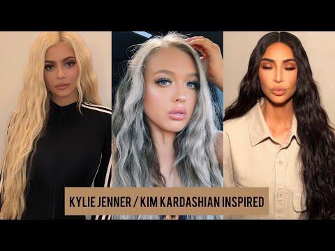 kylie-jenner/kim-kardashian-inspiried-crimped-hairstyle!