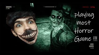 Playing Most Horror Game Ever !!! Outlast Part 1   -   5000 Subscribers Special
