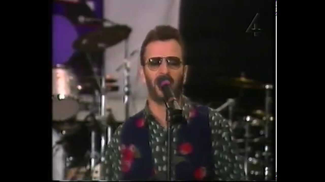 Ringo Starr: rehearsals footage + interview (2nd All Starr ...