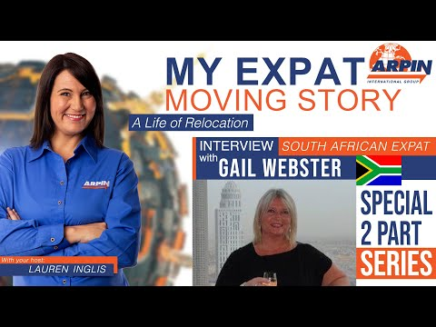 ✈️👨👩👧👦🏜My Expat Moving Story with Lauren Inglis, Part 2 of 5 with Guest Gail Webster