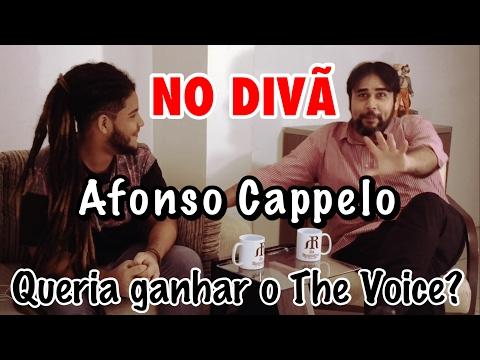 NO DIVÃ - AFONSO CAPPELO - Não queria ganhar o The Voice???