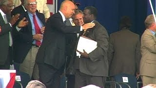 Tony Gwynn gives his Hall of Fame acceptance speech in 2007